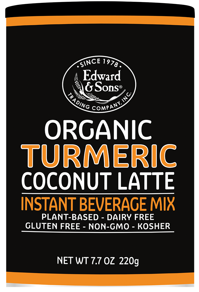 Edward & Sons™ Organic Turmeric Coconut Latte Mix <BR>(BUY ONE, GET ONE FREE)