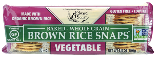 Vegetable Baked Brown Rice Snaps® <BR> (BUY ONE, GET ONE FREE)