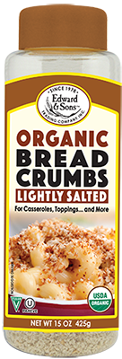 Edward & Sons™ Organic Lightly Salted Breadcrumbs <br> (BUY ONE, GET ONE FREE)