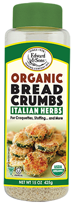 Edward & Sons™ Organic Italian Herb Breadcrumbs