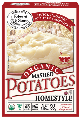 Edward & Sons™ Organic Home Style Mashed Potatoes