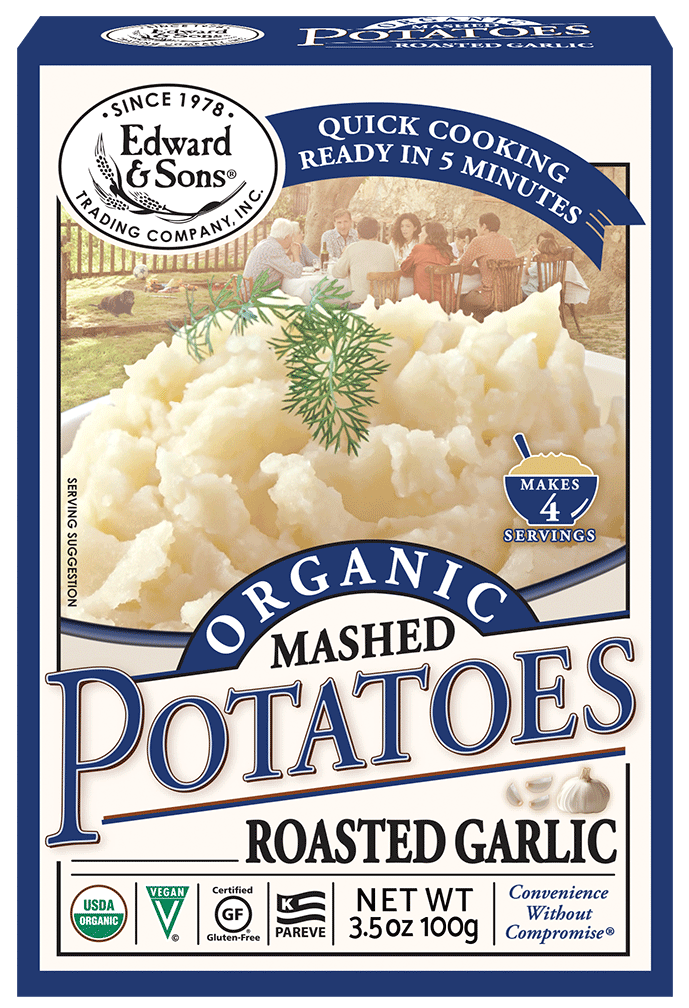Edward & Sons™ Organic Roasted Garlic Mashed Potatoes