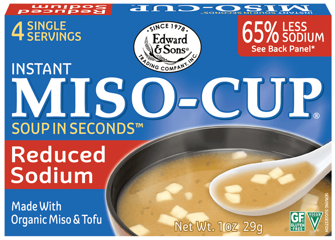 Edward & Sons™ Reduced Sodium Miso-Cup® (4 Pack)
