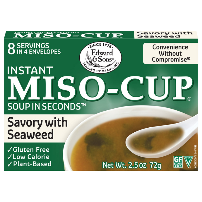 Edward & Sons™ Savory Seaweed Miso-Cup® (4 Pack)