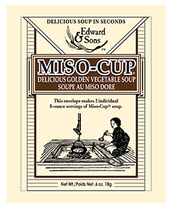 Edward & Sons™ Original Golden Vegetable Miso-Cup® Envelope