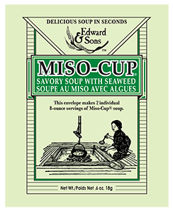 Edward & Sons™ Savory Seaweed Miso-Cup® Envelope <BR> (BUY ONE, GET ONE FREE)