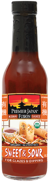 Premier Japan® Organic Sweet & Sour Asian Fusion Sauce