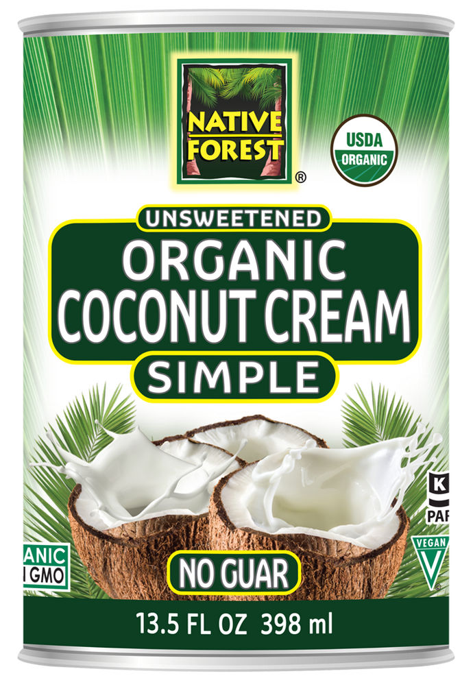Native Forest® Organic Unsweetened Simple Coconut Cream