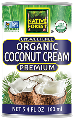 Native Forest® Organic Unsweetened Premium Coconut Cream