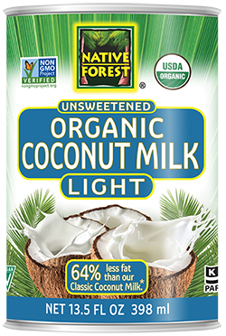Native Forest® Organic Unsweetened Light Coconut Milk