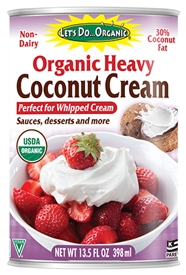 Let's Do Organic® Heavy Coconut Cream