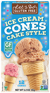 Gluten-Free Ice Cream Cones