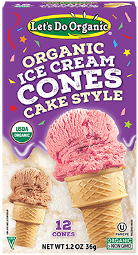 Let's Do Organic® Ice Cream Cones