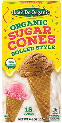 Let's Do Organic® Sugar Cones