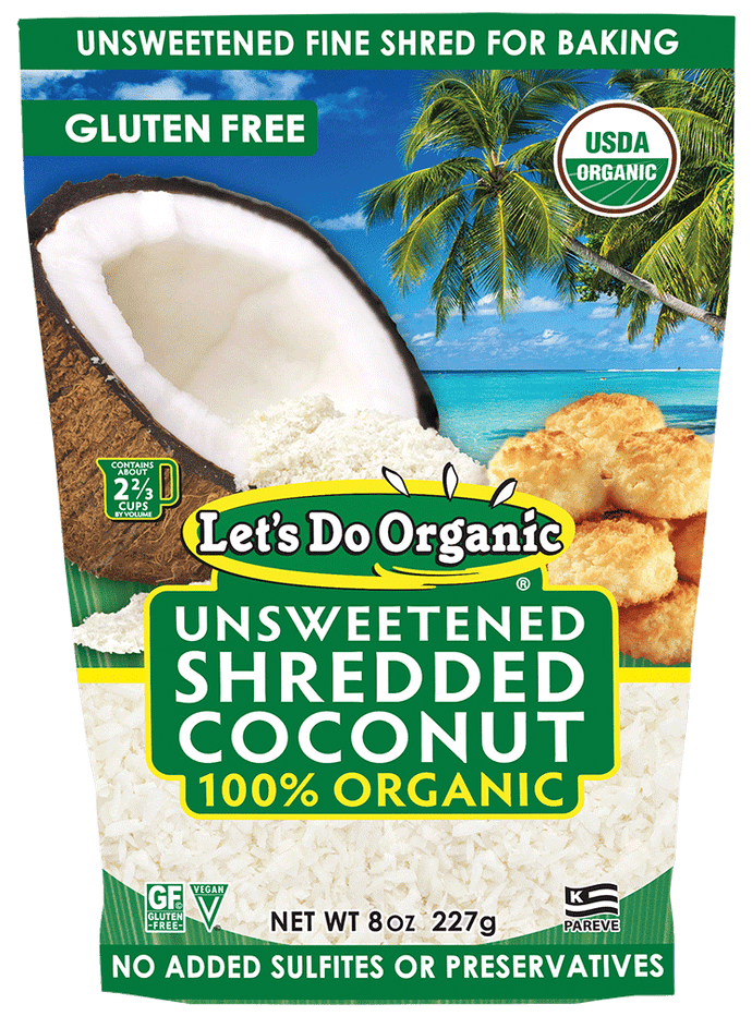 Let's Do Organic® Unsweetened Shredded Coconut