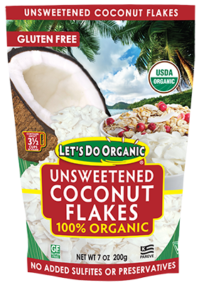 Let's Do Organic® Unsweetened Coconut Flakes