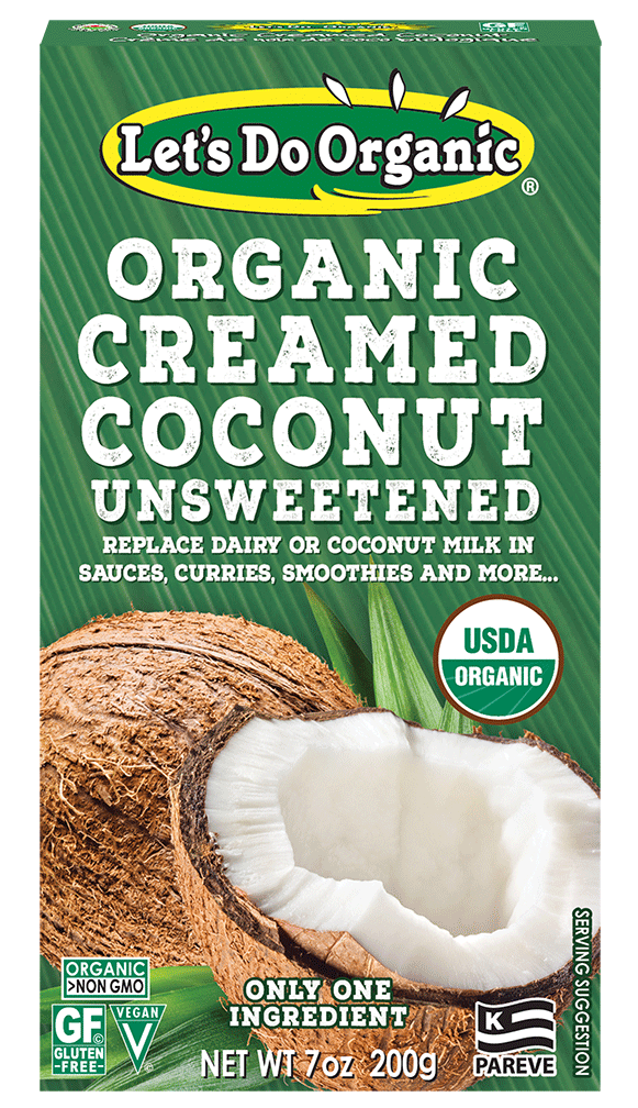 Let's Do Organic® Unsweetened Creamed Coconut