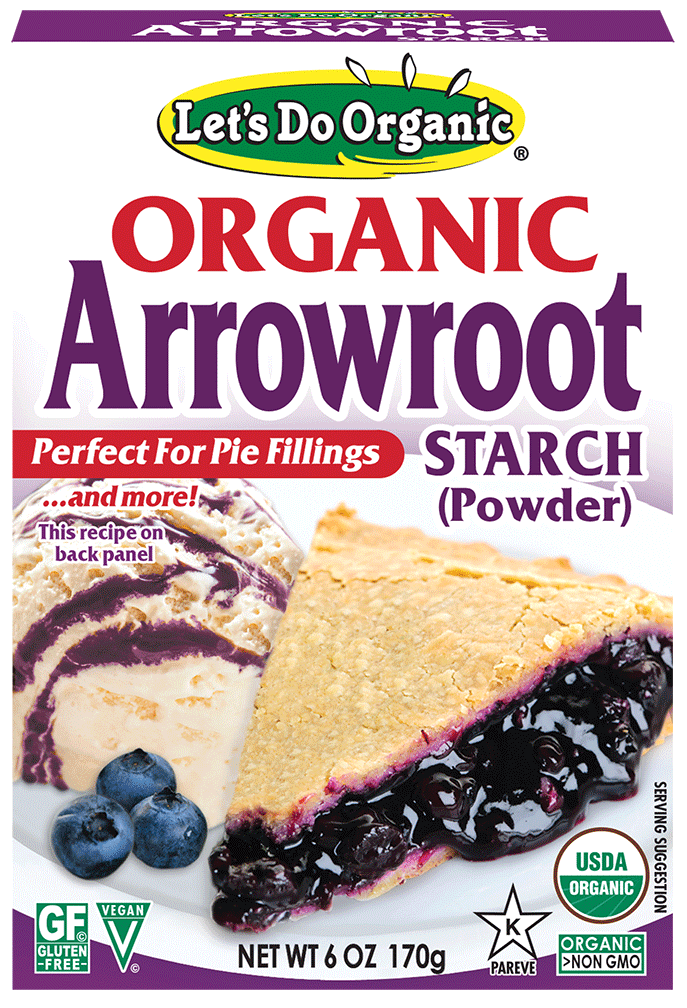 Let's Do Organic® Arrowroot Starch