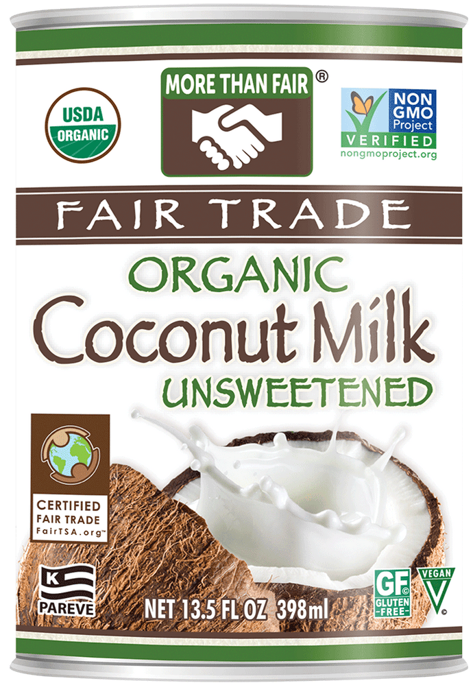 More Than Fair® Fair Trade Organic Coconut Milk