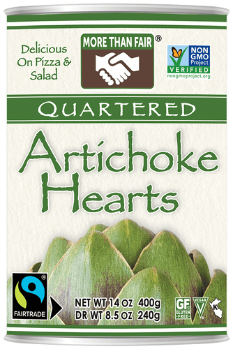 Fair Trade Non-GMO Quartered Artichoke Hearts