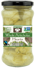 Fair Trade Non-GMO Whole Artichoke Hearts