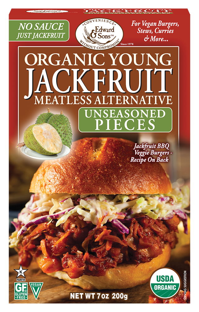 Edward & Sons™ Organic Unseasoned Young Jackfruit Pieces