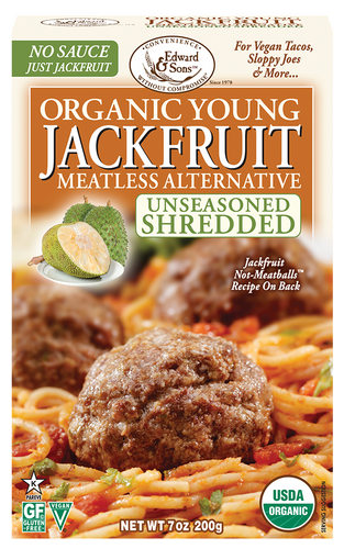 Edward & Sons™ Organic Unseasoned Shredded Young Jackfruit