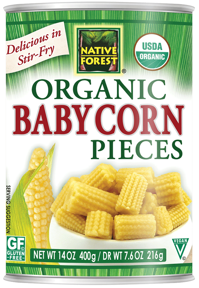Native Forest® Organic Baby Corn Pieces
