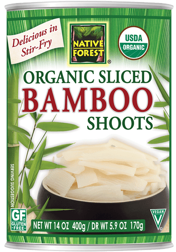Native Forest® Organic Sliced Bamboo Shoots