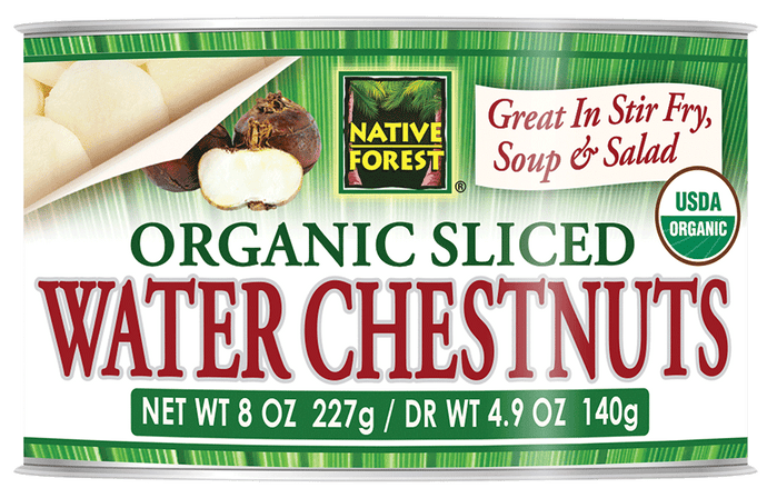 Native Forest® Organic Sliced Water Chestnuts