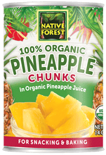 Native Forest® Organic Pineapple Chunks