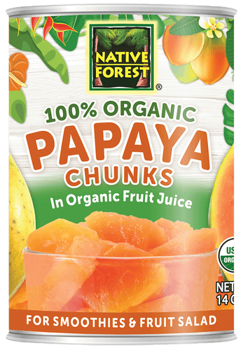 Native Forest® Organic Papaya Chunks