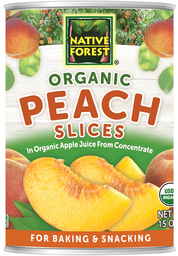 Native Forest® Organic Sliced Peaches