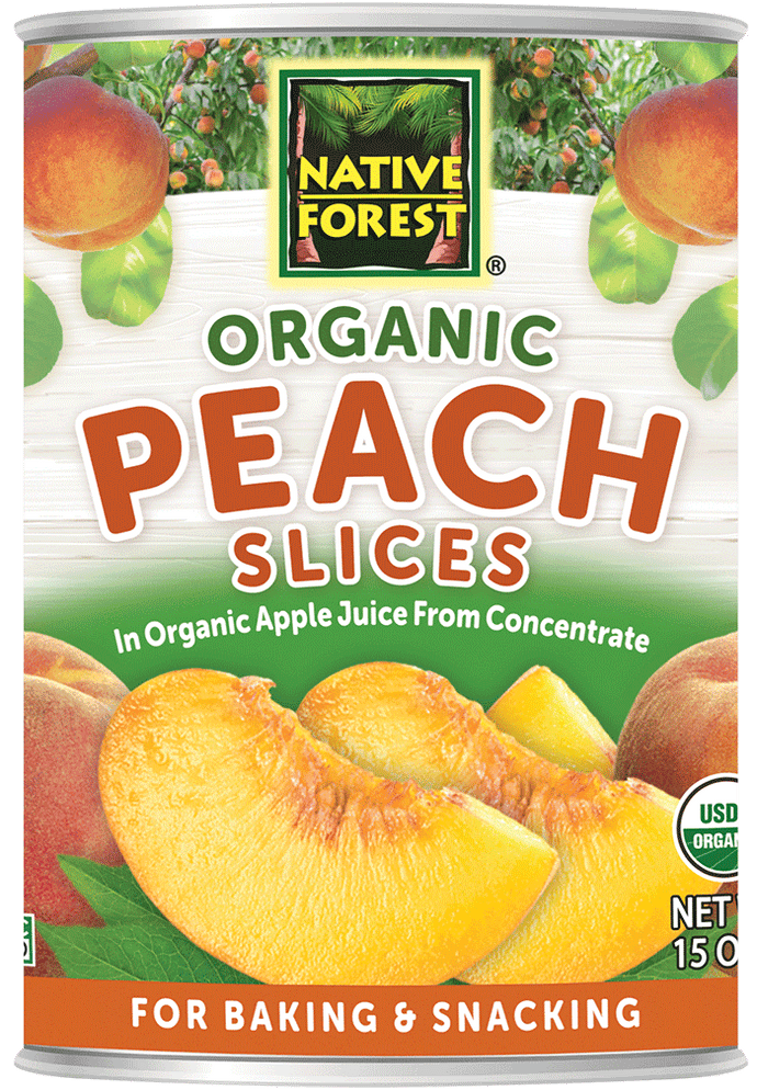 Native Forest® Organic Peach Slices <br> (25% OFF)