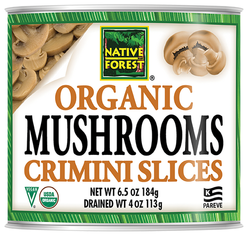 Native Forest® Organic Sliced Crimini Mushrooms