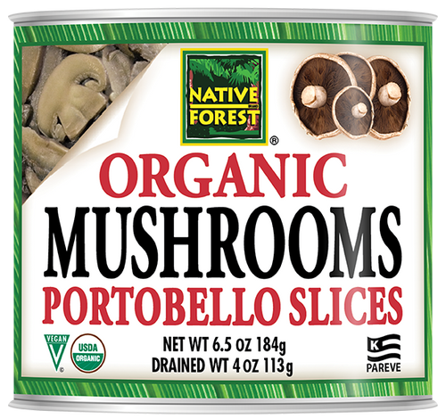 Native Forest® Organic Sliced Portobello Mushrooms