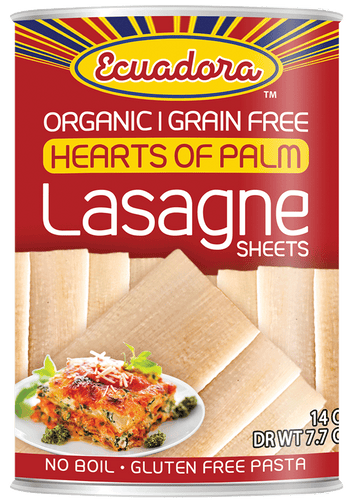 Ecuadora™ Organic Hearts of Palm Lasagne