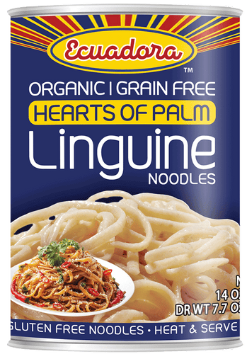 Ecuadora™ Organic Hearts of Palm Linguine