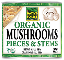 Native Forest® Organic Mushrooms Pieces & Stems
