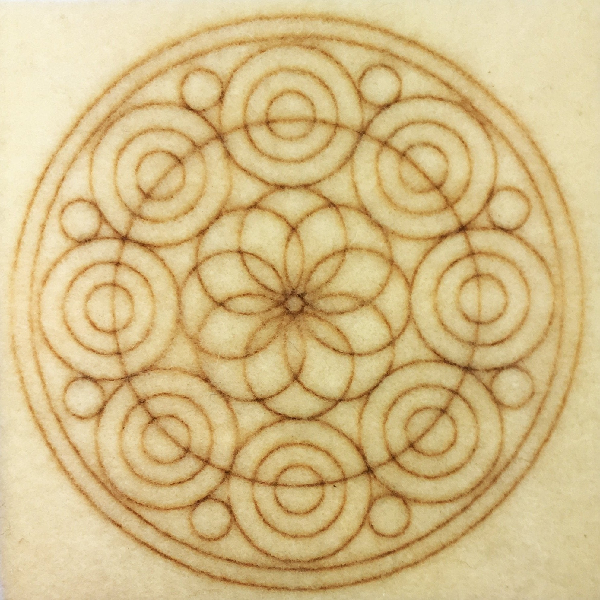 Plaque CIRCLES