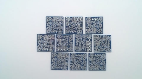 Group of 10 DOA PCBs