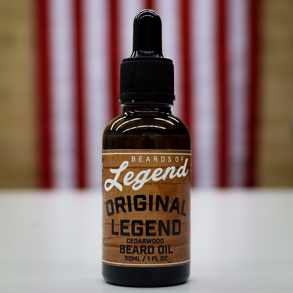 The Original Legend Beard Oil