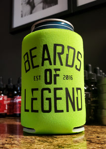 Beards of Legend Can Coolers