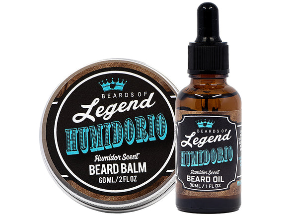 Humidorio Beard Balm and Oil Combo