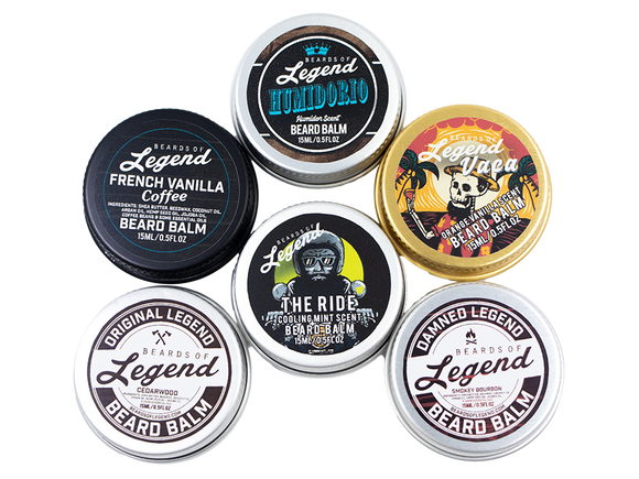 The Legendary Beard Balm Sample Pack