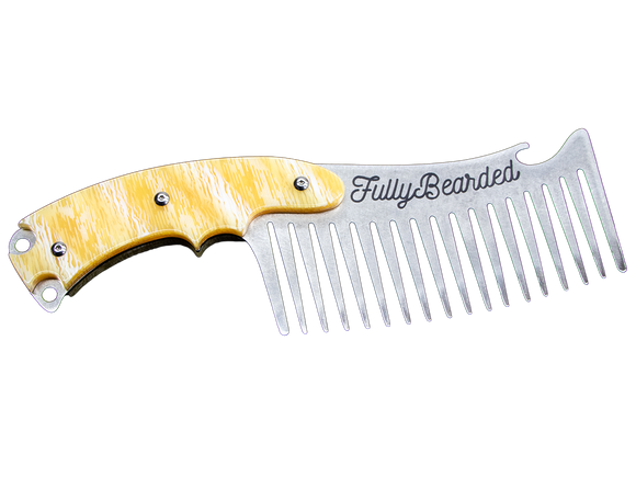 Metal Hatchet Beard Comb (LIMITED TIME ONLY)