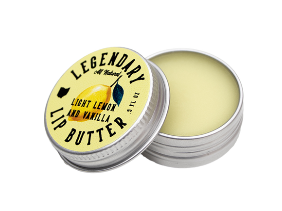 Legendary Lemon Vanilla Lip Butter