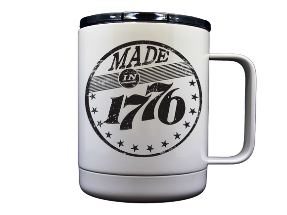 Made In 1776 10 OZ Stainless Travel Mug