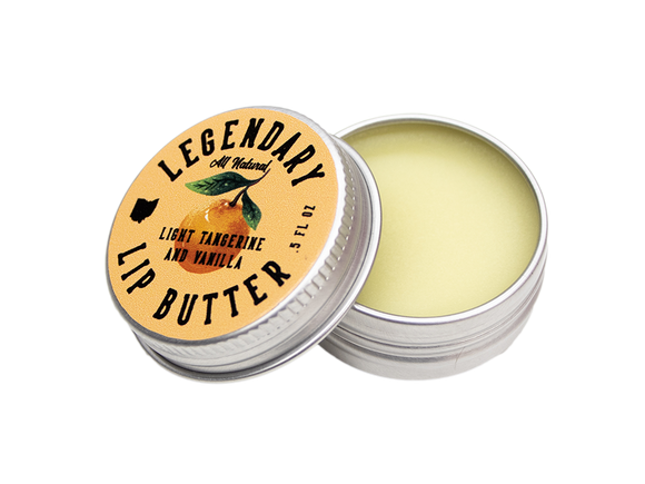 Legendary Tangerine Vanilla Lip Butter