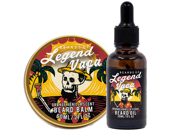 Vaca Beard Balm and Oil Combo